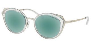Michael Kors MK1029 113725 TEAL MIRRORSHINY SILVER/CRYSTAL CLEAR