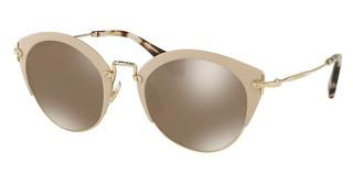 Miu Miu MU 53RS 21F111 BROWN GLITTER MIRR INT BLUEMATTE LIGHT PINK/PALE GOLD