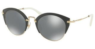 Miu Miu MU 53RS TF8122 DARK GREY GLITTER MIRR INT BLUMATTE GREY/PALE GOLD