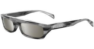 Moschino MOS047/S 79D/T4 SILVER SPSILV BLK