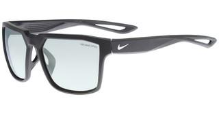 Nike NIKE BANDIT M EV0949 003 MATTE BLACK/SILVER WITH GREY W/ SUPER SILVER FLASH  LENS