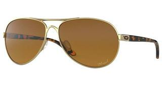 Oakley OO4079 407911 BROWN GRADIENT POLARIZEDPOLISHED GOLD