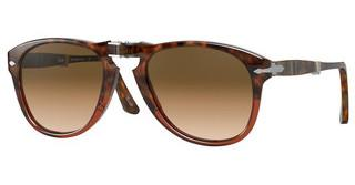 Persol PO0714 112151 CLEAR GRADIENT BROWNBROWN TORTOISE/TRANSP BORDEAUX