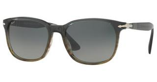 Persol PO3164S 101271 GREY GRADIENT DARK GREYGRADIENT GREY STRIPED GREEN