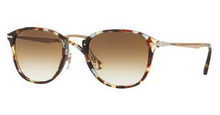 Persol PO3165S 105851 CLEAR GRADIENT BROWNHAVANA/AZURE-BROWN