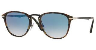 Persol PO3165S 10713F CLEAR GRADIENT BLUETORTOISE BROWN ICE