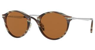 Persol PO3166S 111353 BROWN BLUHORN BROWN