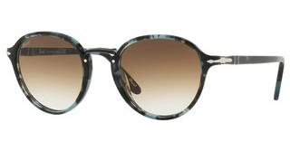 Persol PO3184S 106251 CLEAR GREDIENT BROWNSPOTTED BLUE DARK GREY