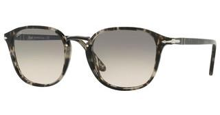 Persol PO3186S 106332 CLEAR GRADIENT GREYSPOTTED GREY BLACK