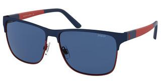 Polo PH3128 940180 DARK BLUEMATTE NAVY BLUE ON MATTE RED