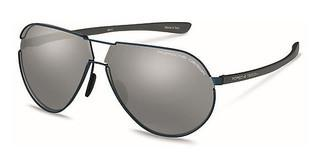 Porsche Design P8617 B mercury, silver mirroreddark blue