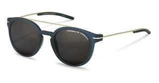 Porsche Design P8644 D grey polarizedblue, gold