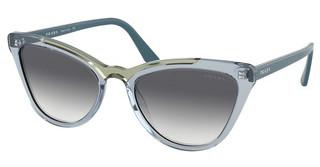Prada PR 01VS 3253B2 CLEAR GRADIENT BLUETRANSP AZURE/TRANSP GREEN