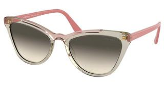 Prada PR 01VS 326130 GREY GRADIENTTRANSP BROWN/TRANSP PINK