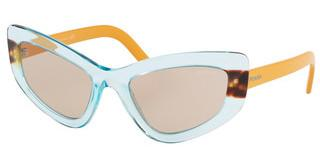Prada PR 11VS 4704I2 LIGHT BROWNAZURE/MEDIUM HAVANA