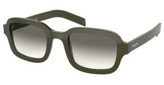 Prada PR 11XS 540130 GREY GRADIENTGREEN