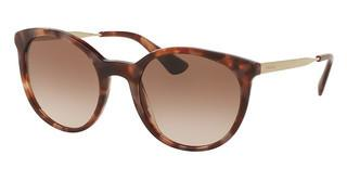 Prada PR 17SS UE00A6 BROWN GRADIENT PINKSPOTTED BROWN PINK