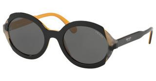Prada PR 17US CCO1A1 GREYTOP BLACK YELLOW/GREY HAVANA
