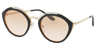 Prada PR 18US WU0232 PINK GRADIENT ORANGEBLUE/YELLOW/PALE GOLD
