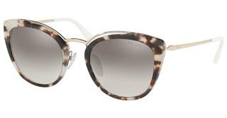 Prada PR 20US UAO5O0 GRADIENT GREY MIRROR SILVERSPOTTED OPAL BROWN/PALE GOLD