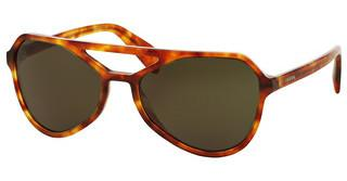 Prada PR 22RS 4BW4J1 DARK GREENLIGHT HAVANA
