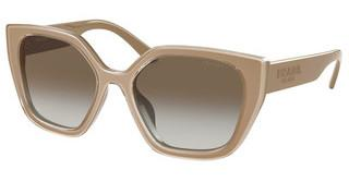 Prada PR 24XS 06G3D0 LIGHT BROWN GRAD LIGHT GREYGREY