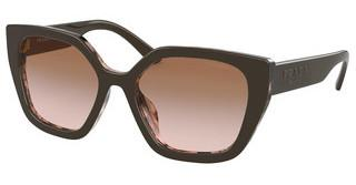 Prada PR 24XS ROL0A6 BROWN GRADIENTBROWN/SPOTTED PINK