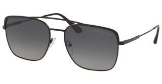 Prada PR 53VS 1BO5W1 POLAR GREY GRADIENTMATTE BLACK