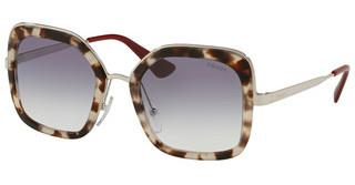 Prada PR 57US UAO409 CLEAR GRADIENT BLUESPOTTED OPAL BROWN