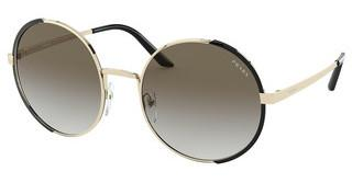 Prada PR 59XS AAV0A7 GREY GRADIENTPALE GOLD/BLACK