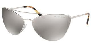 Prada PR 65VS 1BC5K0 BROWN MIRROR SILVER POLARSILVER