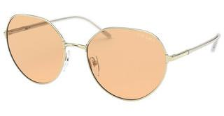 Prada PR 65XS ZVN09D ORANGE PHOTOPALE GOLD
