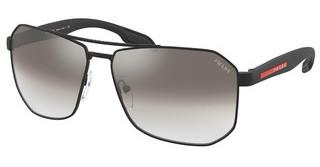 Prada Sport PS 51VS 1BO5O0 GRADIENT GREY MIRROR SILVERMATTE BLACK