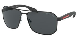 Prada Sport PS 51VS DG05Z1 POLAR GREYBLACK RUBBER