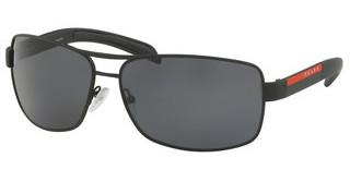 Prada Sport PS 54IS DG05Z1 POLAR GREYBLACK RUBBER