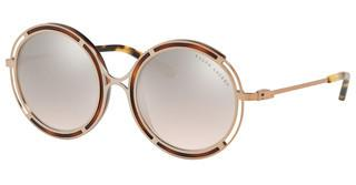 Ralph Lauren RL7060 93508Z LIGHT BROWN MIRROR SILVER GRADSANDED ROSE GOLD/YELLOW HAVANA