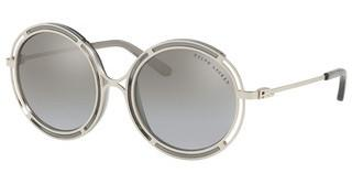 Ralph Lauren RL7060 93516V LIGHT GREY MIRROR GRAD SILVERSANDED SILVER/CRYSTAL GREY