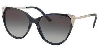 Ralph Lauren RL8172 57248G LIGHT GREY GRADIENT BLACKBLACK HORN VINTAGE EFFECT