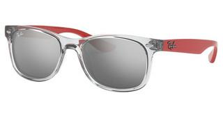 Ray-Ban Junior RJ9052S 70636G GREY MIRROR SILVERTRANSPARENT GREY
