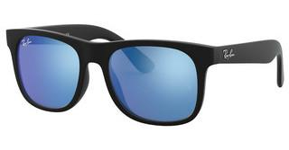 Ray-Ban Junior RJ9069S 702855 BLUE MIRROR BLUERUBBER BLACK