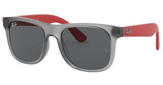 Ray-Ban Junior RJ9069S 705987 DARK GREYRUBBER TRANSPARENT GREY