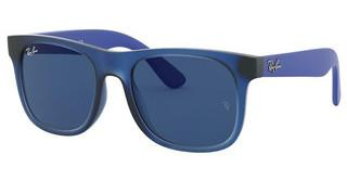 Ray-Ban Junior RJ9069S 706080 DARK BLUERUBBER TRANSPARENT BLUE