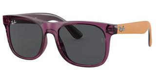 Ray-Ban Junior RJ9069S 706987 DARK GREYTRANSPARENT VIOLET