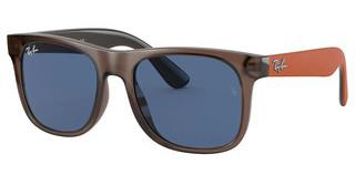 Ray-Ban Junior RJ9069S 707180 DARK BLUETRANSPARENT BROWN