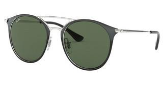 Ray-Ban Junior RJ9545S 271/71 DARK GREENBLACK ON SILVER