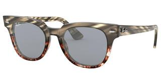 Ray-Ban RB2168 1254Y5 BLUE MIRROR GOLDGREY GRADIENT BROWN STRIPED