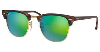Ray-Ban RB3016 114519 GREY MIRROR GREENSAND HAVANA/GOLD