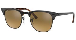 Ray-Ban RB3016 12773K BROWN MIRROR GRADIENT GREYTOP GREY ON HAVANA