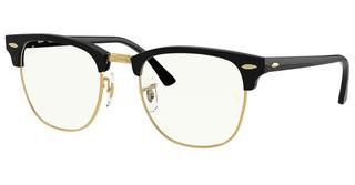Ray-Ban RB3016 901/BF CLEAR BLUESHINY BLACK