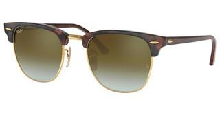 Ray-Ban RB3016 990/9J GREEN FLASH GRADIENTSHINY RED/HAVANA